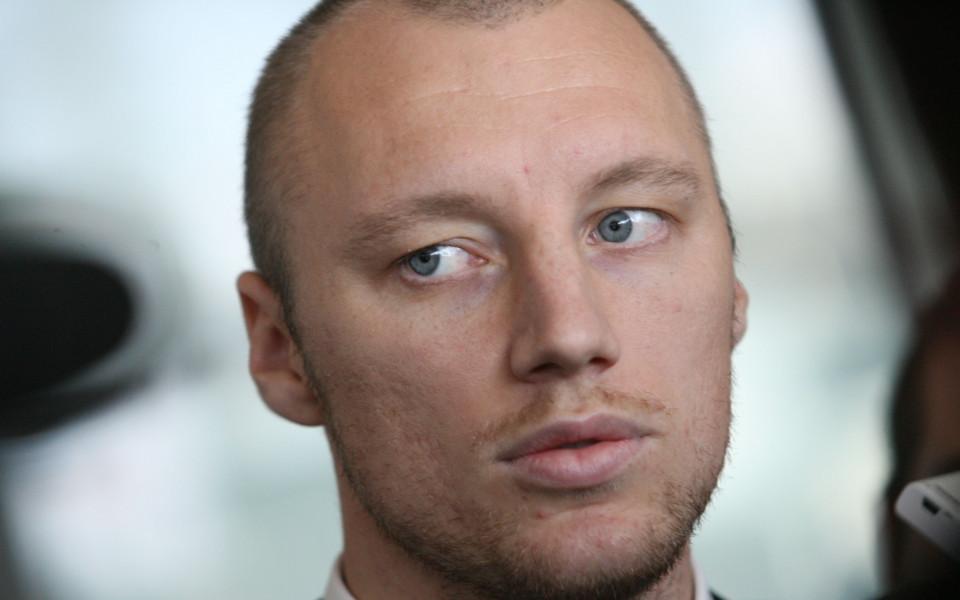 СНИМКА: Иван Иванов гледа Супербоул в компанията на Лампард и Пирло