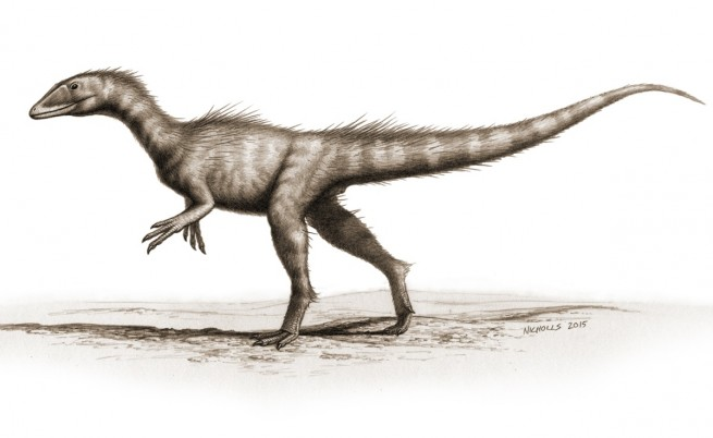 Рисунка на дракораптор