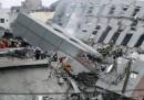 Дрон засне трагедията в Тайван (видео)