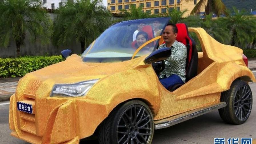 """Шуя"" - китайски автомобил от принтера"
