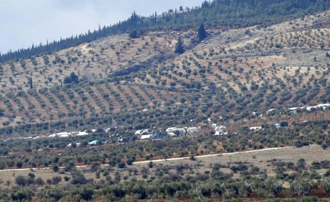 Турция бомбардира мощно кюрдски зони в Сирия