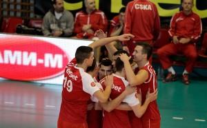 ЦСКА с огромна крачка към полуфинал за Купата по волейбол