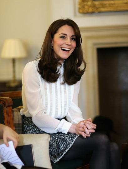 """Кейт ще гостува за един ден като главен редактор на изданието """"Хъфингтън пост"""", за да привлече вниманието върху проблемите на децата с психични заболявания и стигмата, с която са белязани."""