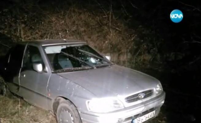 Гонка с полицията в София завърши с катастрофа