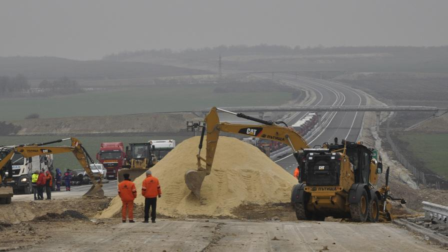 "Новата отсечка на магистрала ""Марица"" пропадна"