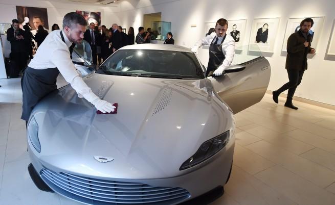 Броиха $3,4 млн. за колата на Джеймс Бонд