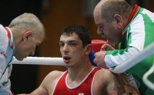 Петър Белберов на финал на Странджа