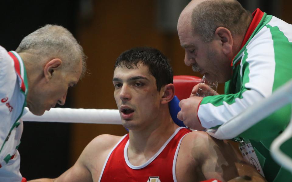Белберов падна от французин на четвъртфиналите в Минск