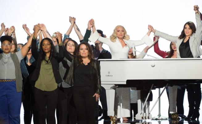 Лейди Гага пя в подкрепа на жертвите на сексуалното насилие