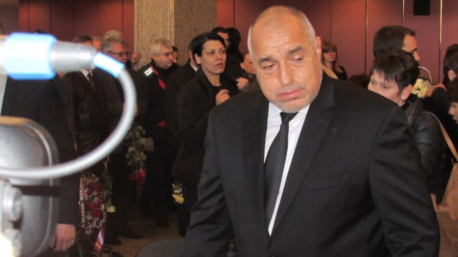 Борисов: Ще довършим започнатото от Танов
