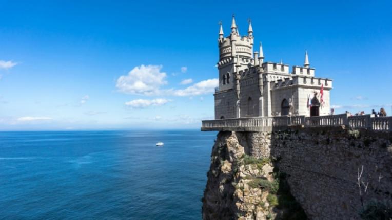 Крим дворец море изглед