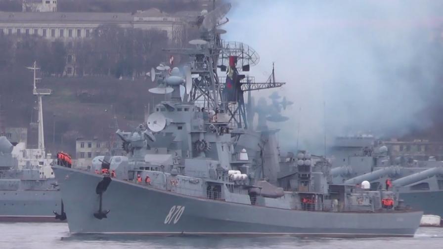 Русия изпраща разрушител и самолетоносач към Сирия