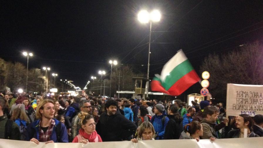 Екопротест затвори Орлов мост в пиков час
