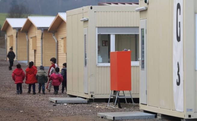 Мигрантски лагер в Германия