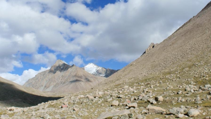 Откриха 28 древни непознати вируса в ледник в Тибет
