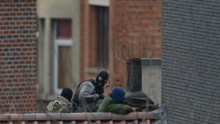 Престрелката в Брюксел приключи с убит терорист