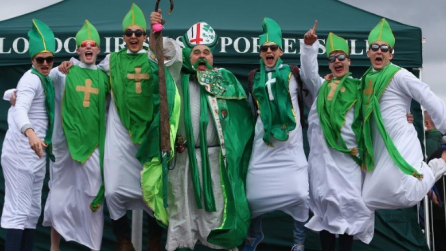Ирландците празнуват Свети Патрик