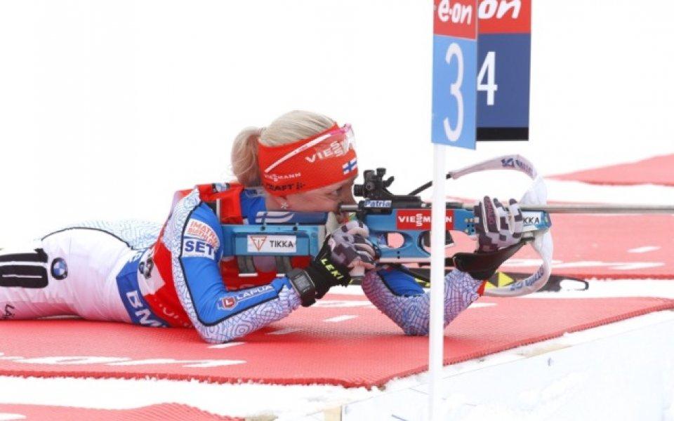 Макарайнен взе първия спринт в биатлона, българките назад