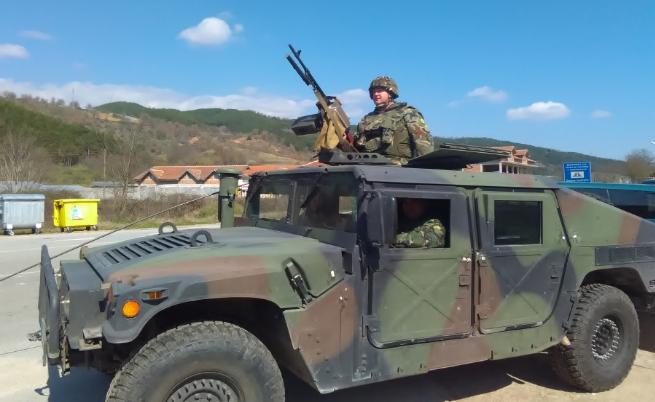 Полиция и военни тренират за потенциална бежанска криза на границата