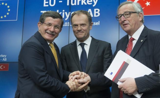 Турция и Европа се споразумяха за бежанците