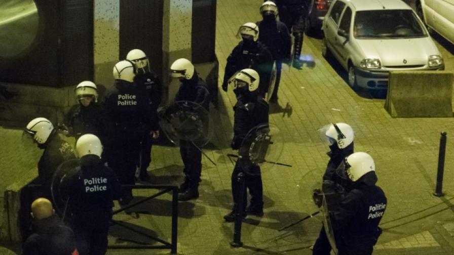 Заложническа криза в Брюксел се оказа обир