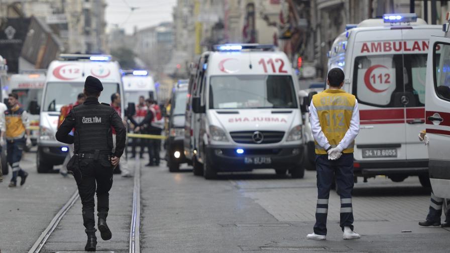 """""""Ислямска държава"""" зад атентата в Истанбул"""