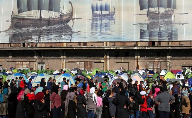 Имигрантите отново нахлуха в Гърция