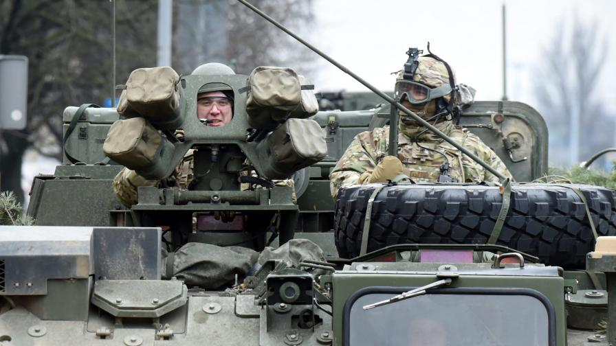 САЩ изпращат бронетанкова бригада в България и Румъния