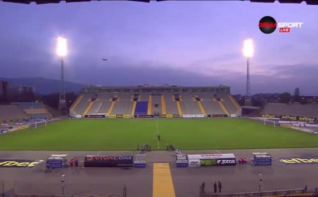 Левски ударил дъното на мач от Първа лига