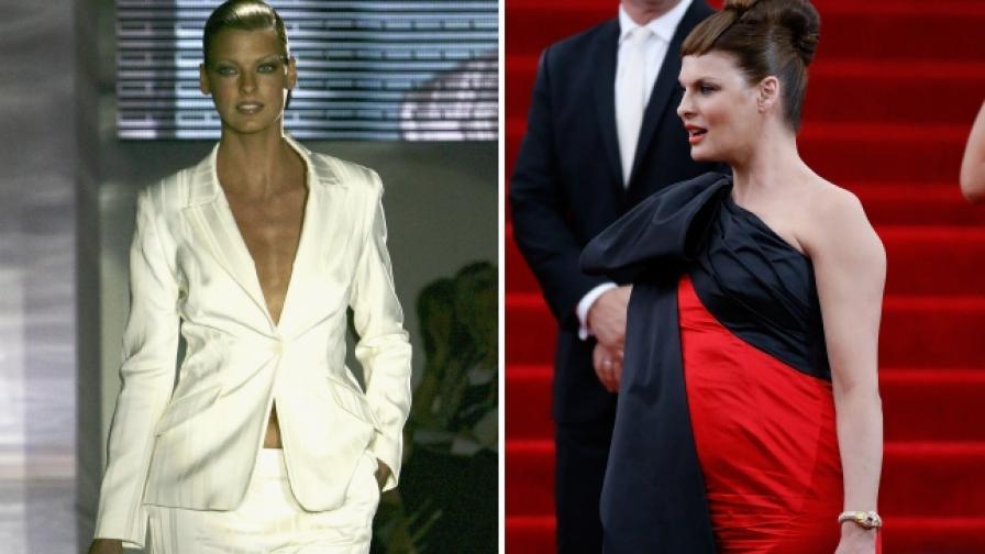 Заприличала ли е на лелка Линда Еванджелиста (преди и след)