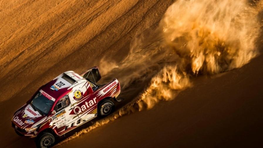 Усетете предизвикателството  на пустинята в Абу Даби