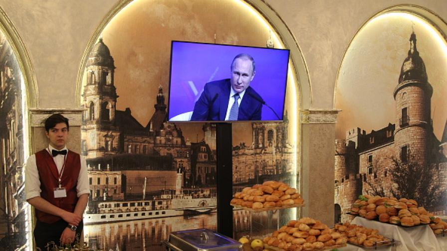 """""""Президент кафе"""", с любов за Путин"""