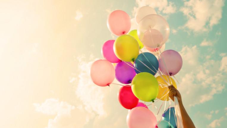 балони щастие небе спокойствие
