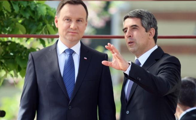 Росен Плевнелиев и Анджей Дуда