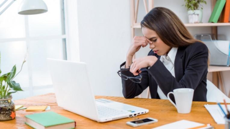 Компютър работа стрес умора