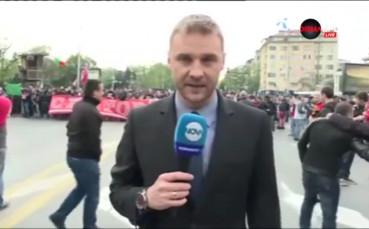 ВИДЕО: Хиляди участваха в шествието на ЦСКА