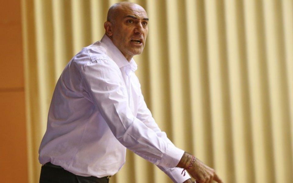 Любо Минчев след поражението от Спартак: Серията още не е загубена