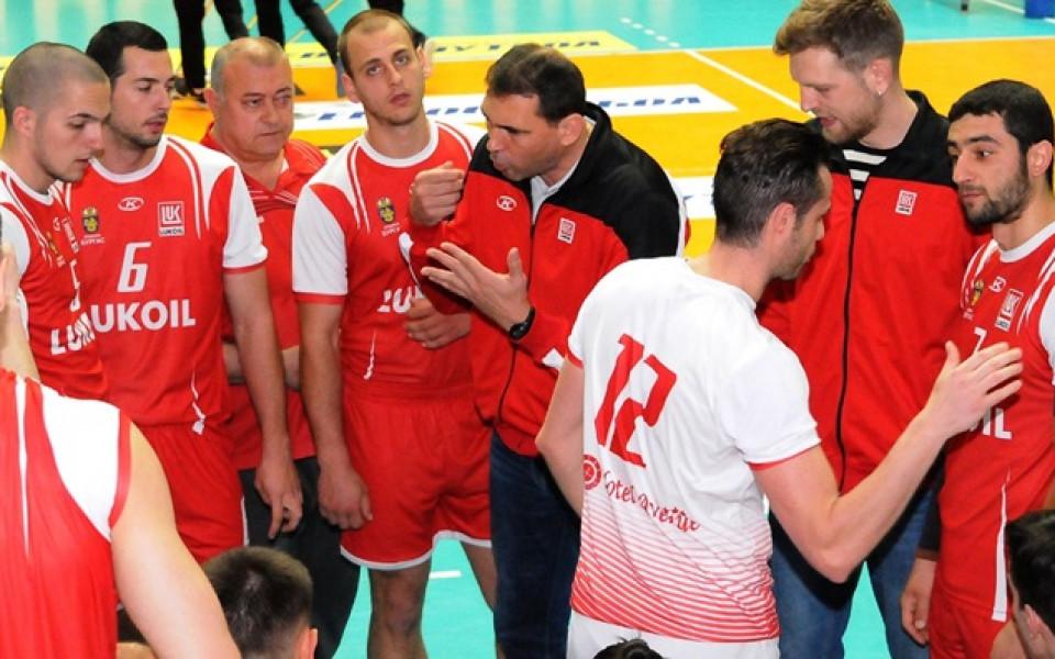 Нефтохимик триумфира с волейболната Купа на България