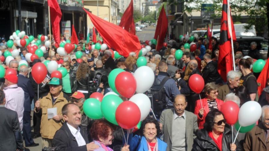Демонстрации, бои и жертва в Деня на труда