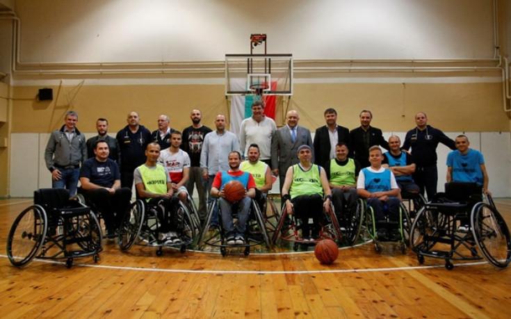 Спортното министерство с подкрепа към баскетбола на колички
