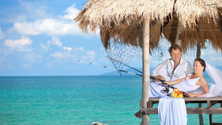 меден месец Бора Бора Барбадос