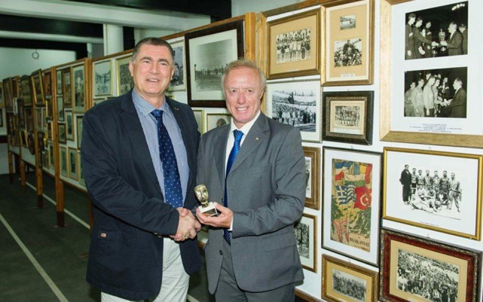 Карамаринов откри музея на Балканската атлетика в Атина