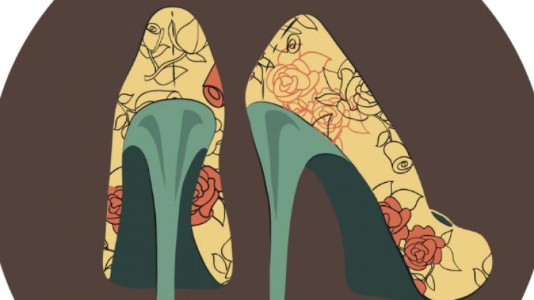 обувки крака елегантност мода