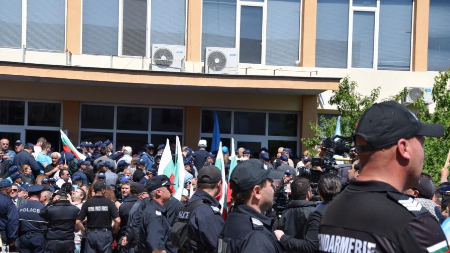Джебел: ДПС с агитка, Местан с турския посланик