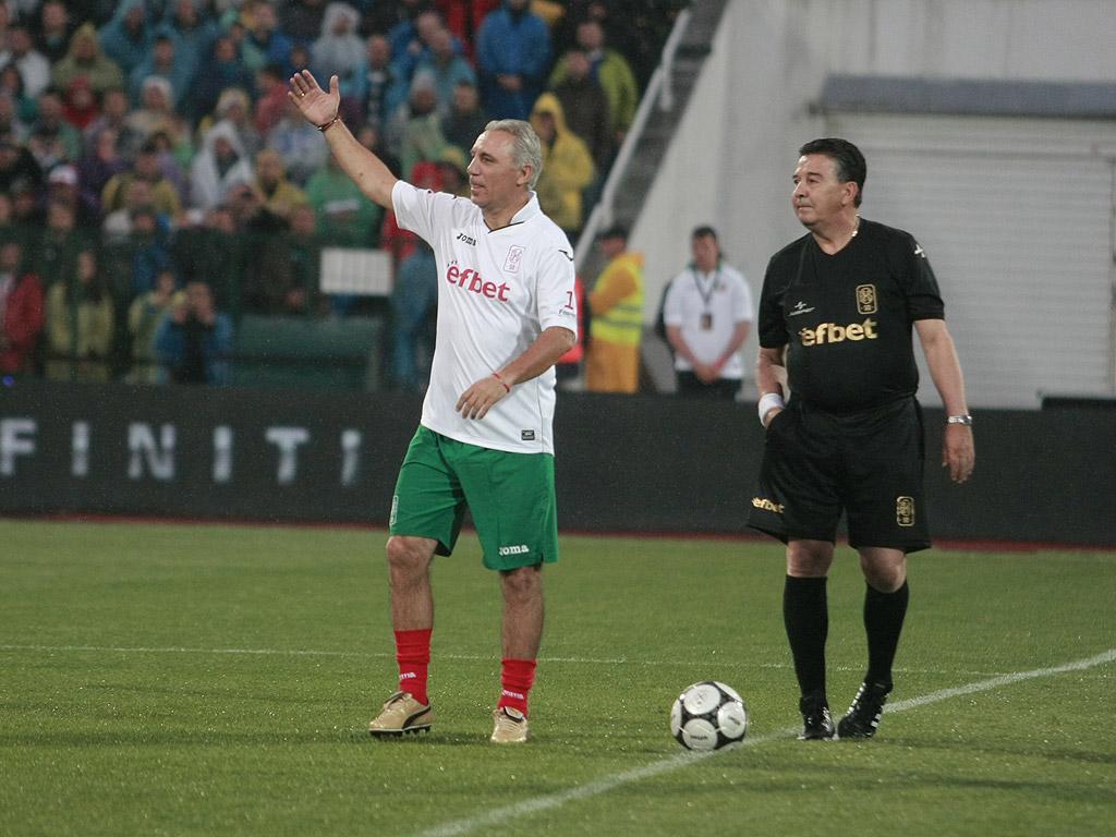 Христо Стоичков и Атанас Узунов