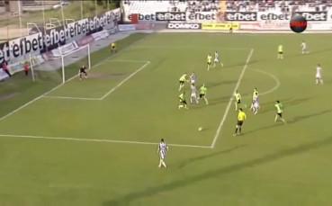 Локомотив Пловдив - Черно море 2:1, А група, 35-и кръг