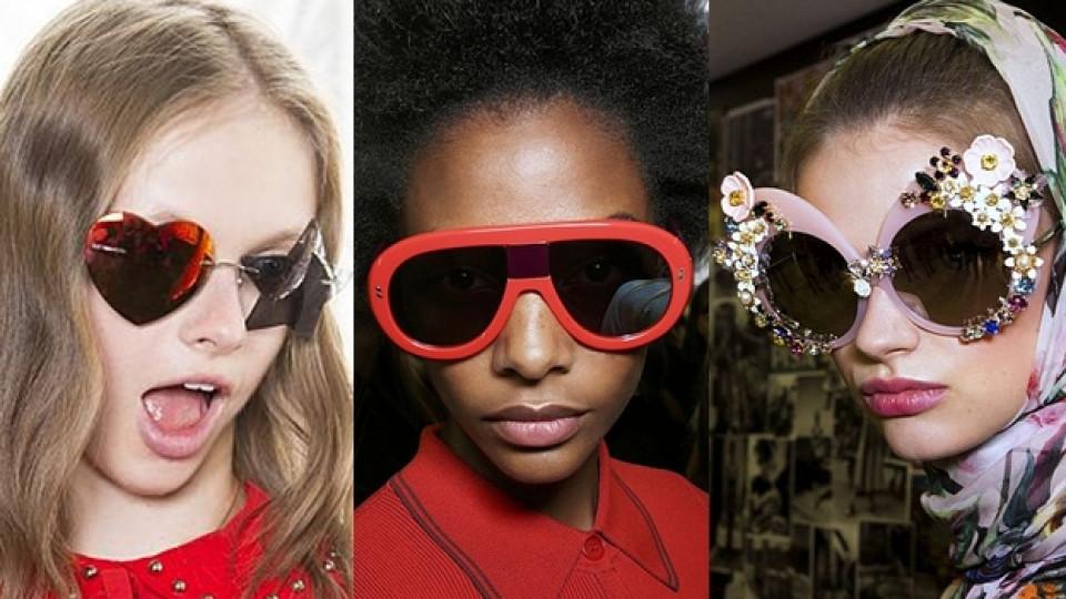 Цветна истерия при слънчевите очила за пролет/лято 2016