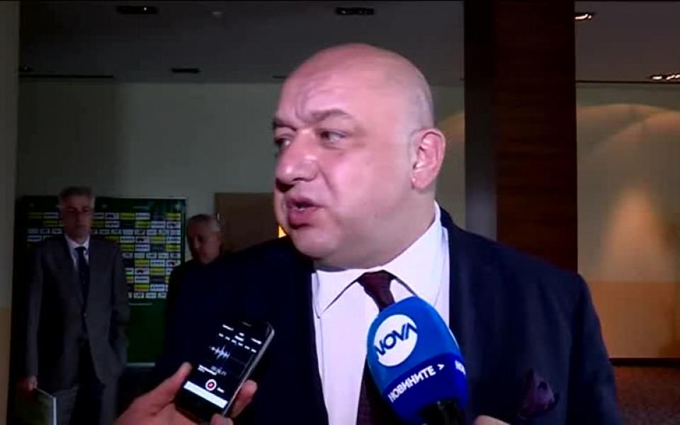 Кралев: Взехме единственото правилно решение за ЦСКА