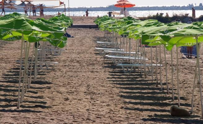 По-високи цени за чадър и шезлонг на плажа