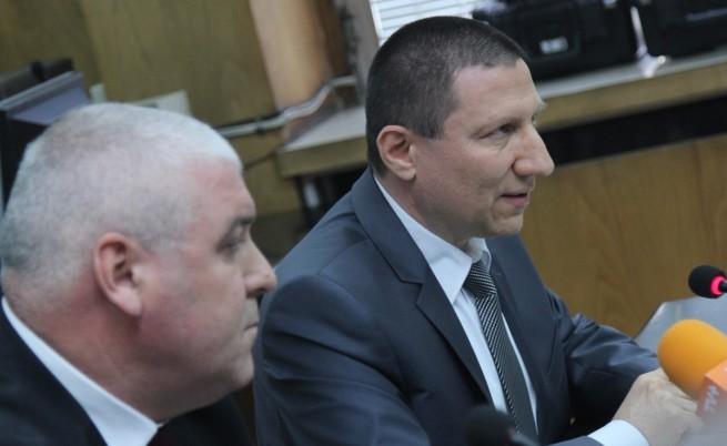 Шефът на ГДБОП и Сарафов